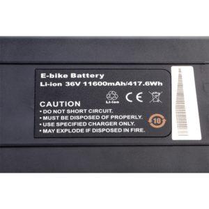 Cargobike batteri 36V